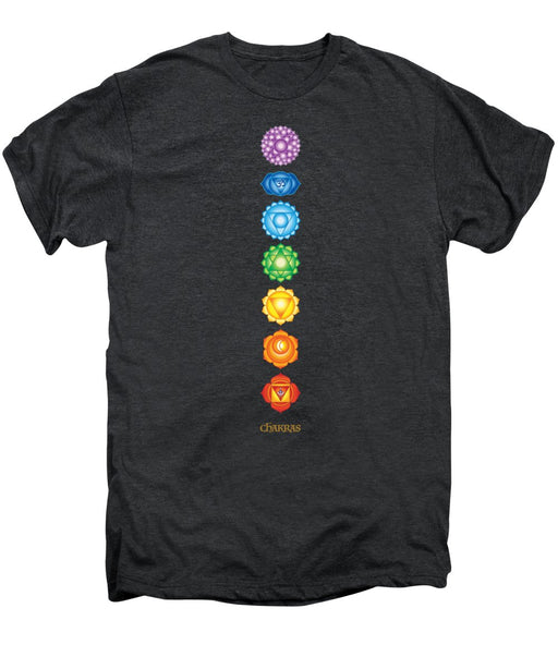 7 Chakras - Men's Premium T-Shirt