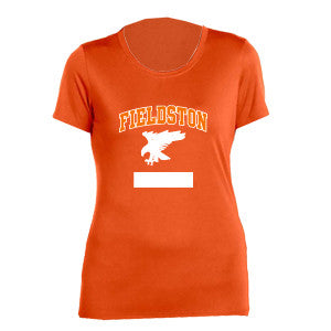 Women's Orange Performance T-Shirt