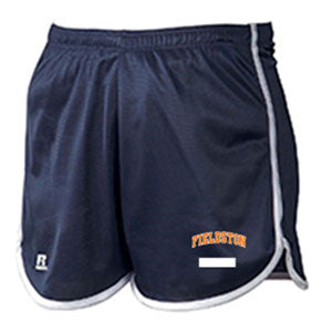 Ladies' Russell Athletic Dazzle Shorts - Navy