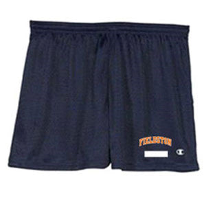 Ladies' Active Mesh Shorts - Navy