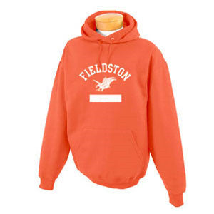 Youth Pullover Hoodie Sweatshirt - Orange
