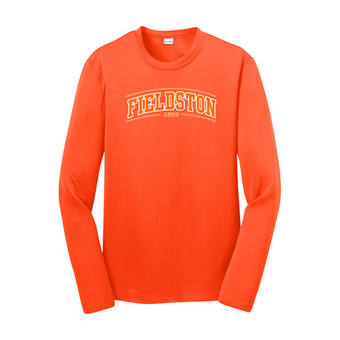 Sport-Tek Youth Long Sleeve Tee - Neon Orange