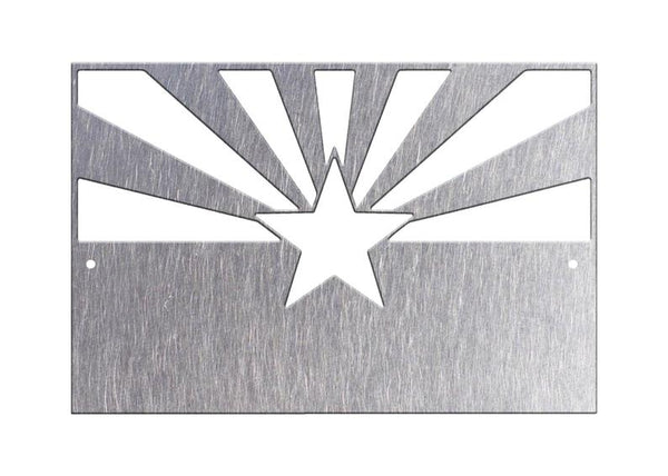 16 To 36 Arizona State Flag Wall Art Metal Home Decor Arizona Ins Lewis Metal Works