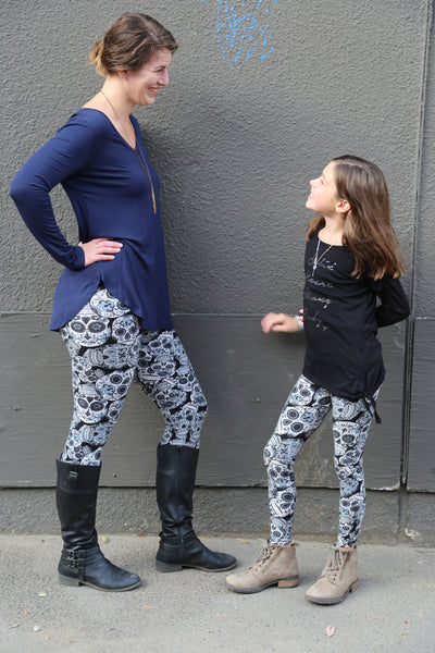 Kids need footwear options on how to wear with thier Leggings too !
