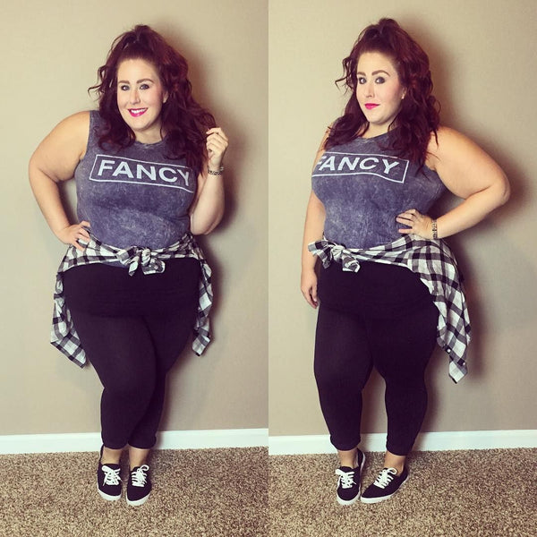 Style Q&A: One Size Plus Size Leggings - Do they really fit ?