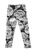 Black & White Sugar Skulls Kids