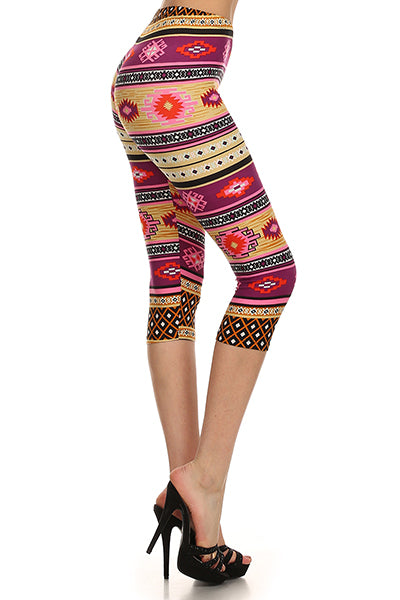 Tribal Girl Capris