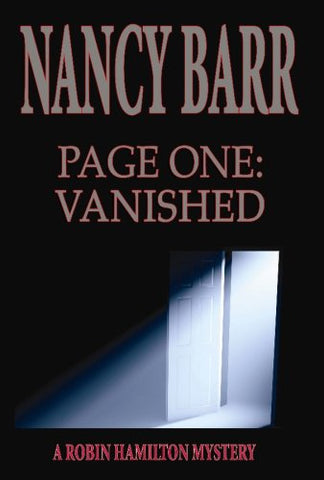 Page One: Vanished (A Robin Hamilton Mystery)