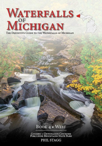 Waterfalls of Michigan: Book 4 WEST