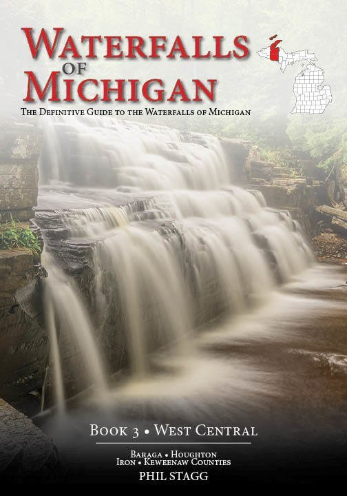 Waterfalls of Michigan: Book 3 WEST CENTRAL