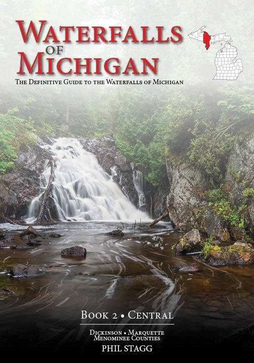 Waterfalls of Michigan: Book 2 CENTRAL