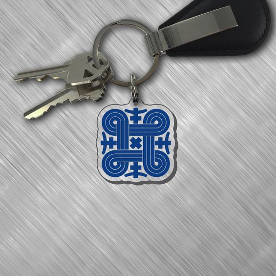 Finnish Good Luck Keytag