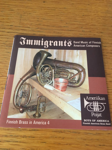 Immigrants: Band Music of Finnish American Compsers
