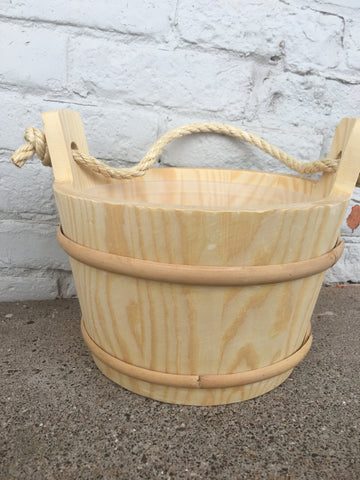 Rope Handle Sauna Bucket