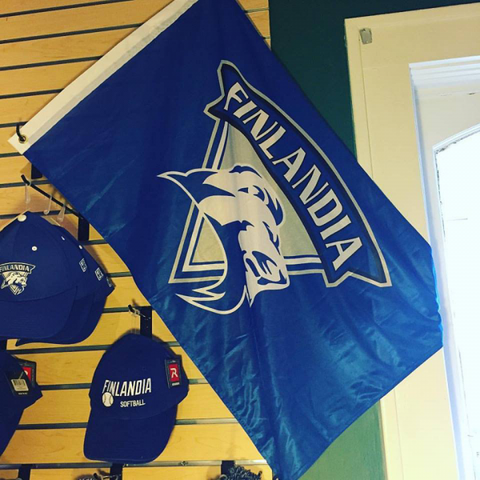Finlandia Lions Outdoor Flag