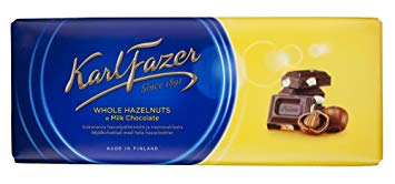 Fazer Hazelnuts in Milk Chocolate Bar
