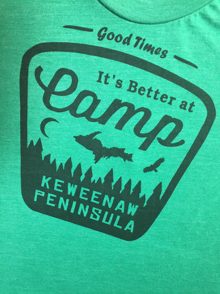 Better at Camp Tee - Green