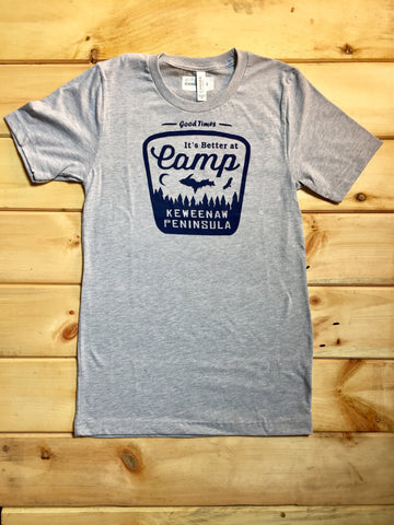 Better at Camp Tee - Gray