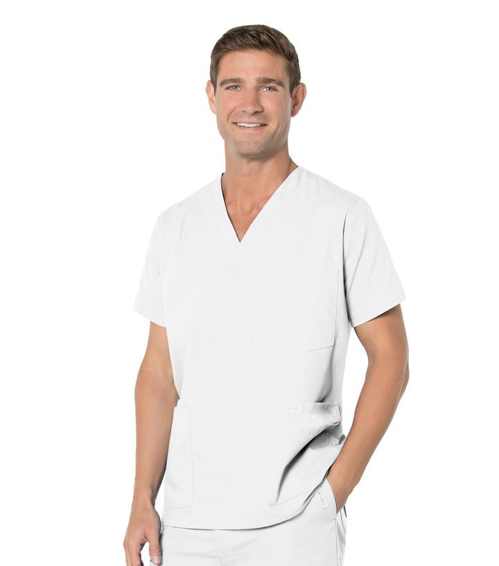 Men's 5-Pocket Scrub Top