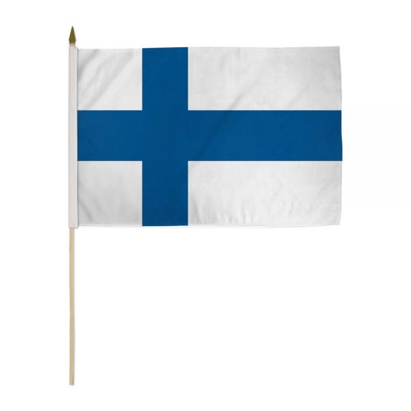 Finnish Flag 12x18
