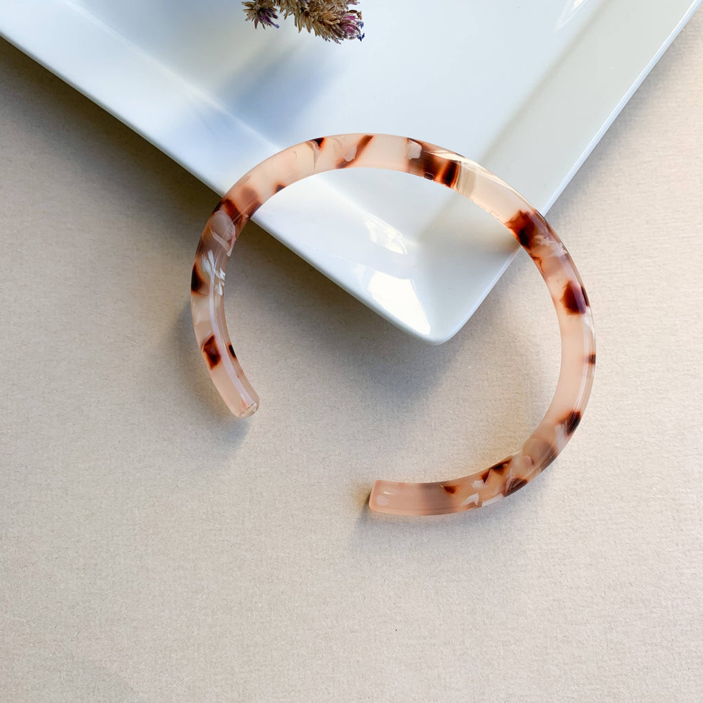 Fenna & Fei Bangle Cuff Acetate Bangle Bracelets