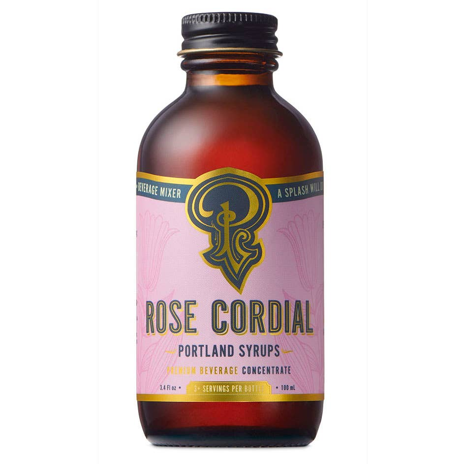 Rose Cordial Syrup (100ml)