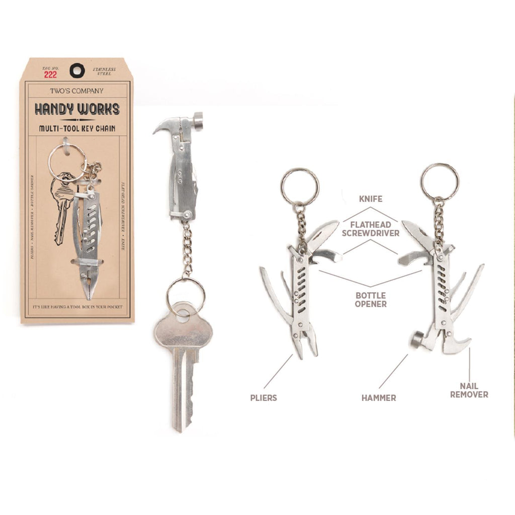 Multi-Tool Key Chain