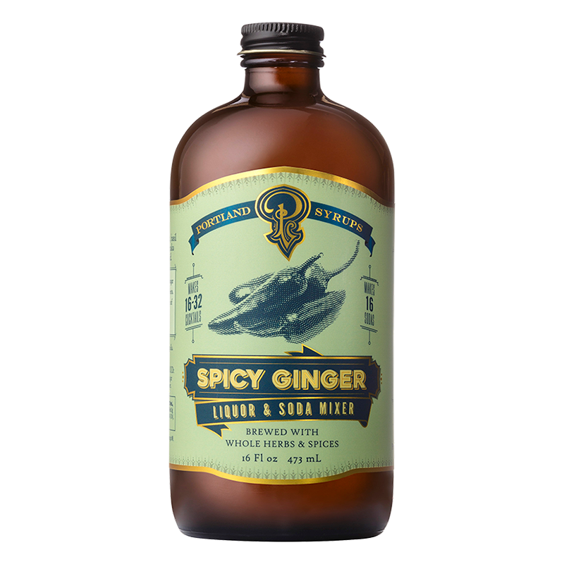 Spicy Ginger Syrup (16oz)