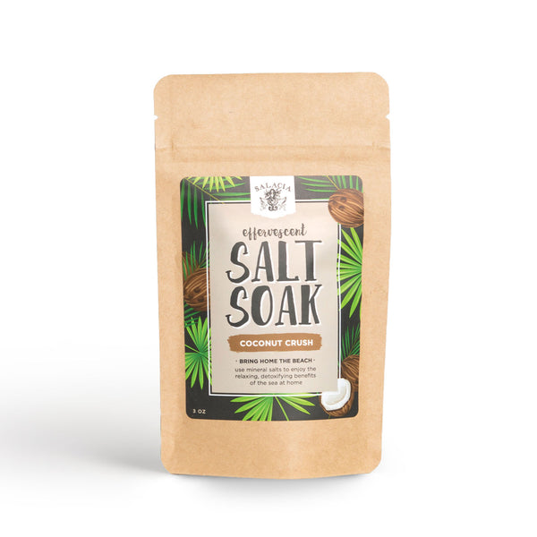 Coconut Crush Effervescent Salt Soak