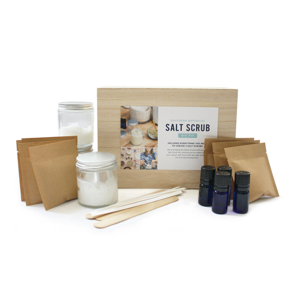 DIY Southern Botanical Salt and Sugar Scrubs Kit