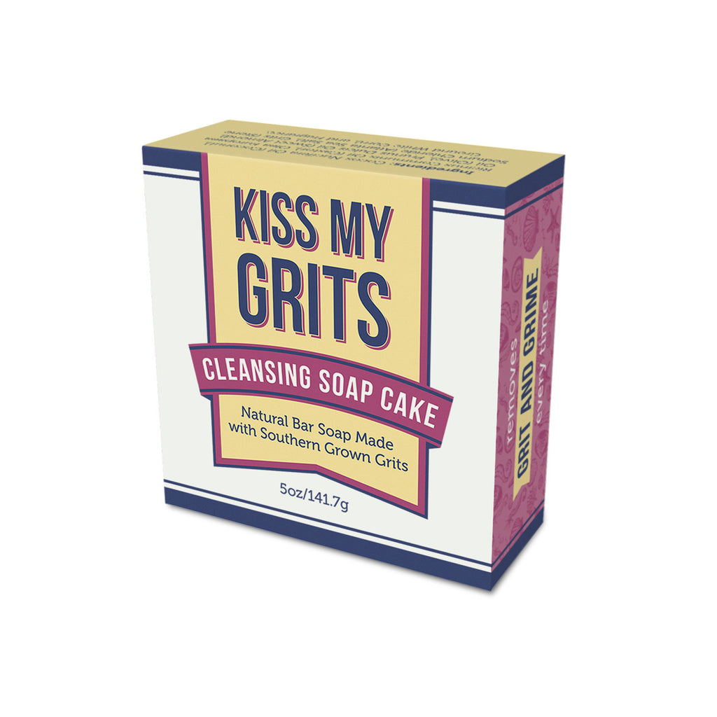 Kiss My Grits Cleansing Soap Cake