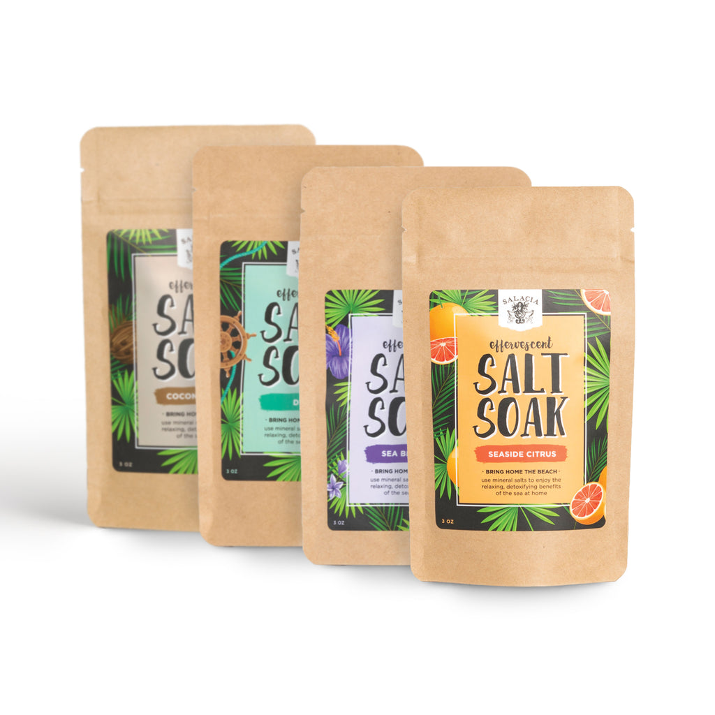 Effervescent Salt Soak Bundle