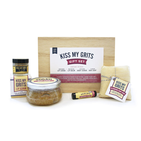 Kiss My Grits Gift Set