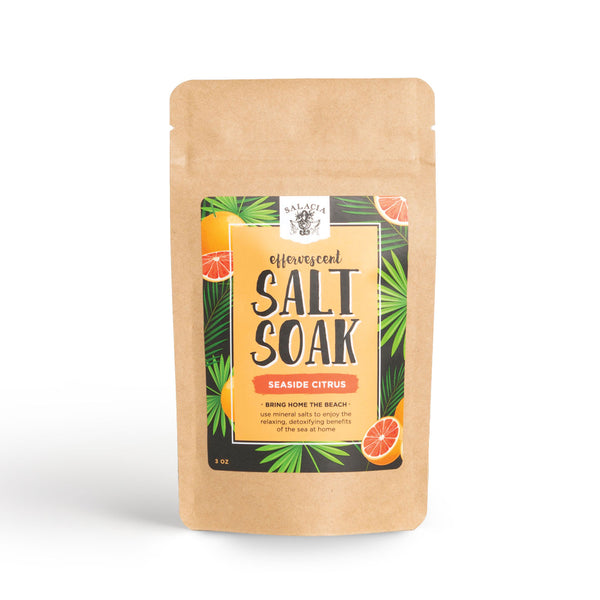 Seaside Citrus Effervescent Salt Soak