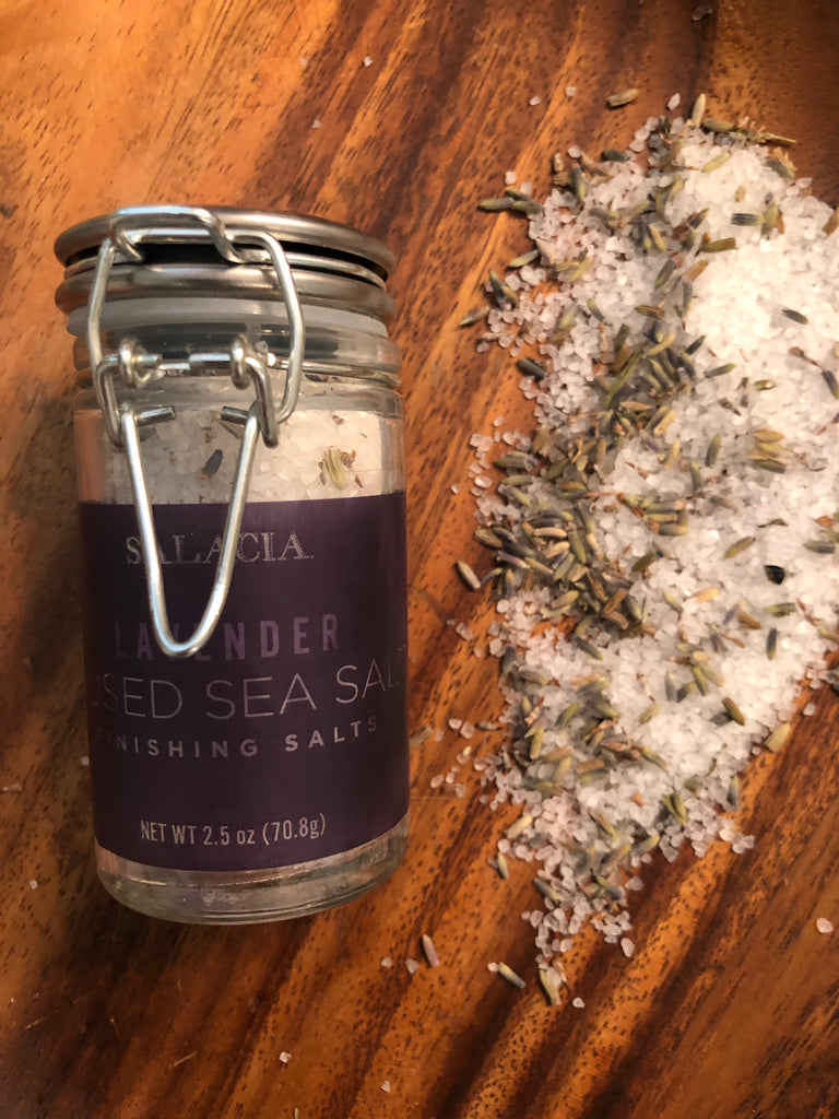 Lavender Infused Finishing Salts