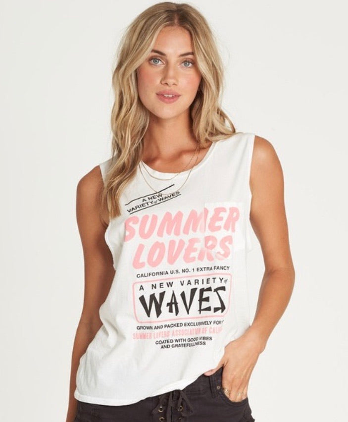 Summer Lovers Muscle Tank