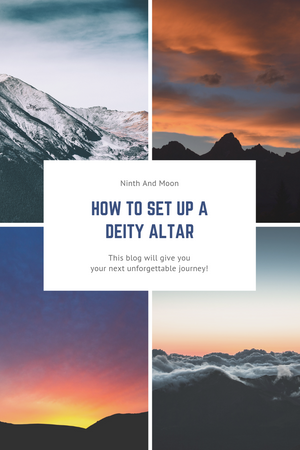 How to Set up a Deity Altar