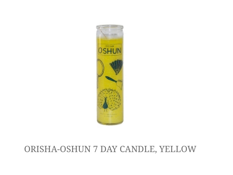 7 Day Oshun Candle