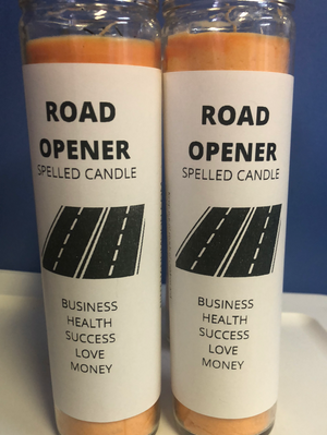 Road Opener (Spelled) Candle