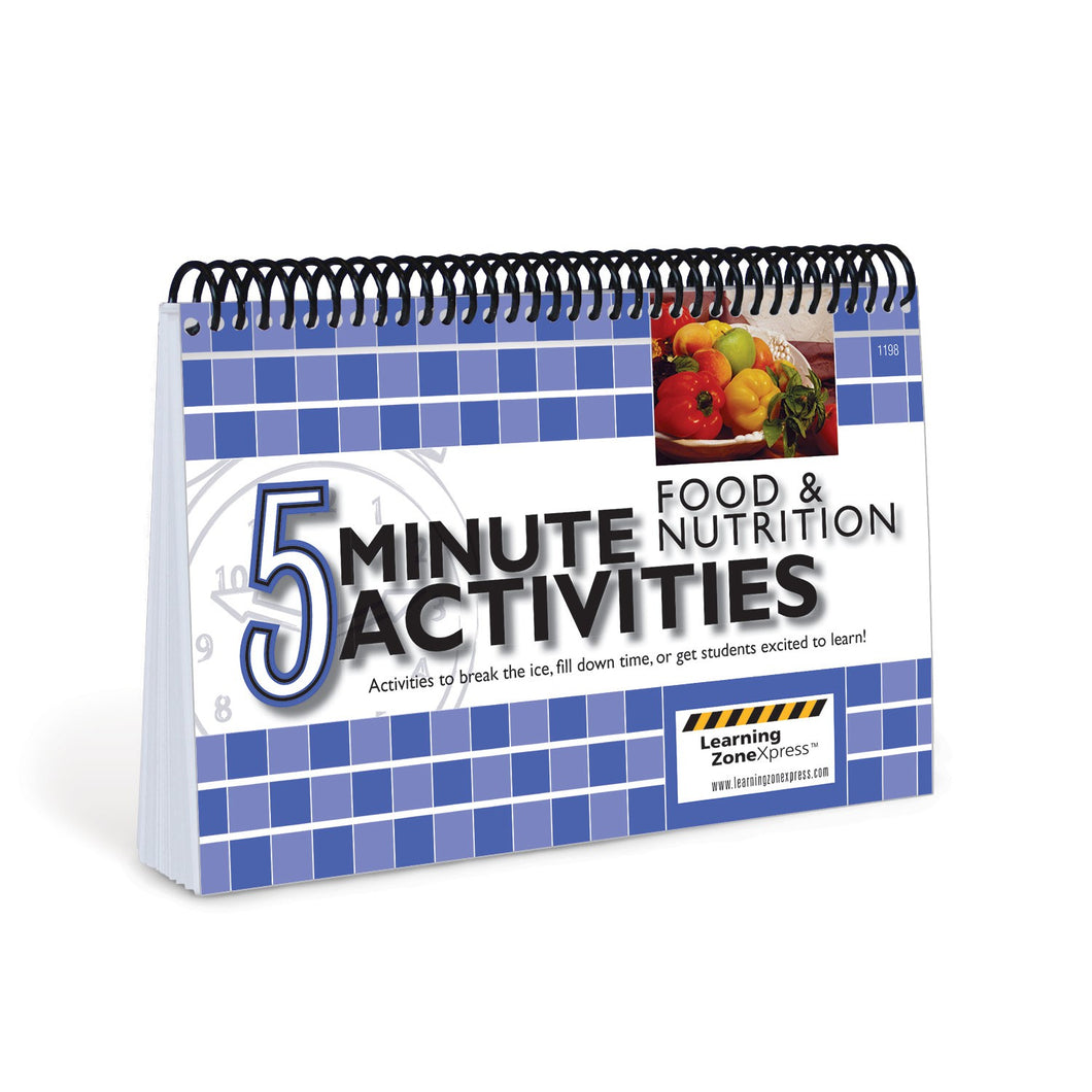 5 Minute Food and Nutrition Activities