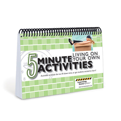 5 Minute Living On Your Own Activities