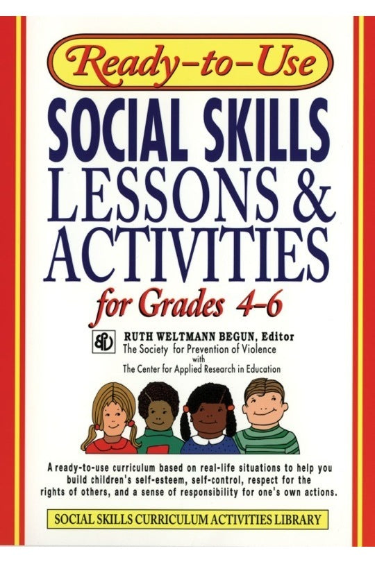 Ready-To-Use Social Skills Grades 4-6