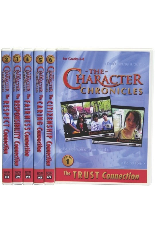 The Character Chronicles Complete Set - 6 DVD Videos