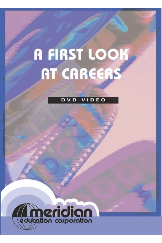 A First Look At Careers DVD Grades 2-6