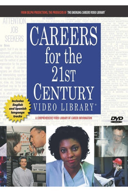 Careers for the 21st Century Video Library (Set of 21 DVDs)