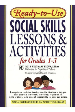 Ready-To-Use Social Skills Grades 1-3