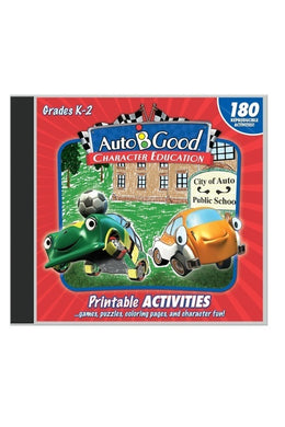 Auto-B-Good Follow up Activities Volumes 1-12 Gr:K-2