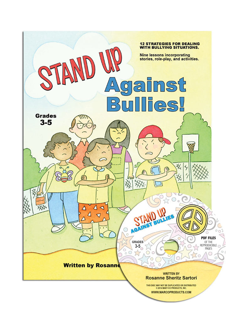 Stand Up Against Bullies!  Grades 3-5 with CD