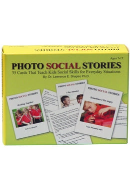 Photo Social Stories Cards Card Game