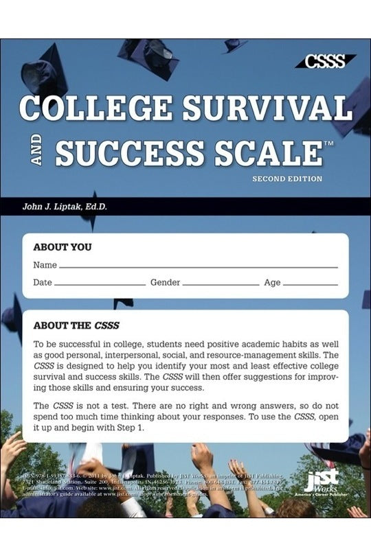 College Survival and Success Scale (CSSS) Set of 25 Assessments
